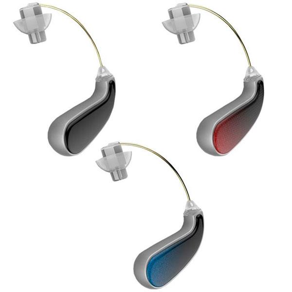 人目が気にならない 信頼 小型でスタイリッシュなデザイン 耳かけ型集音器 イヤーフォース 全商品オープニング価格 EF-16MK ブラック ミニ