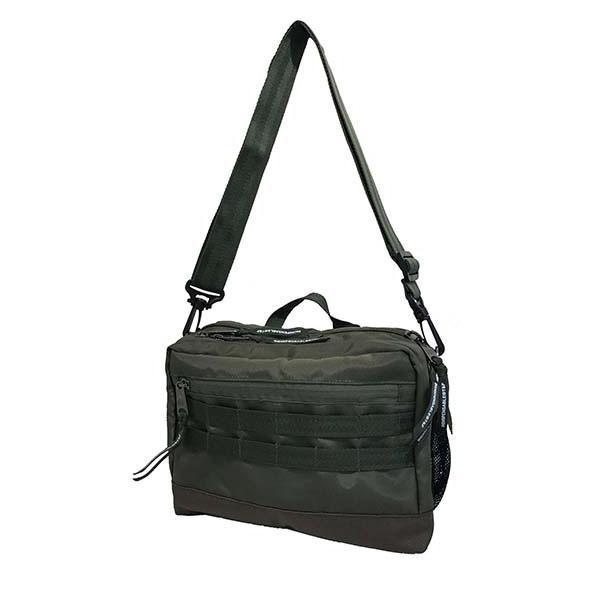 INDISPENSABLE IDP MINI ショルダーバッグ SHOULDER BAG DINKY カーキー 14042100-35