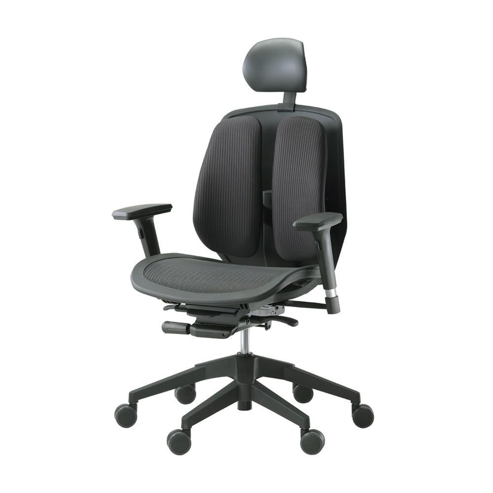 回転椅子 α80H (MESH BLACK)