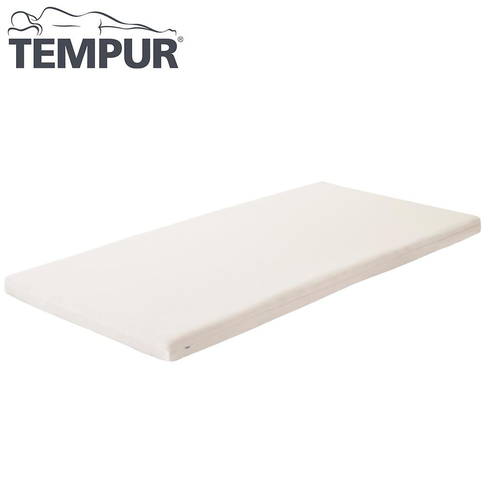 Tempur テンピュール スムースマットレスカバー 3.5~7cm ファスナータイプ 幅95~97cm ベージュ