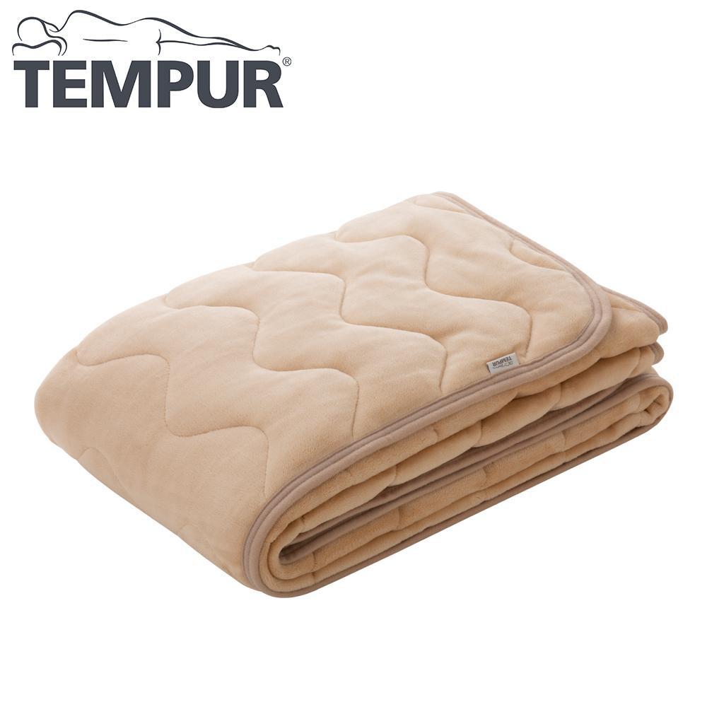 Tempur テンピュール ウォームコンフォート 敷きパッド ベージュ SD セミダブル
