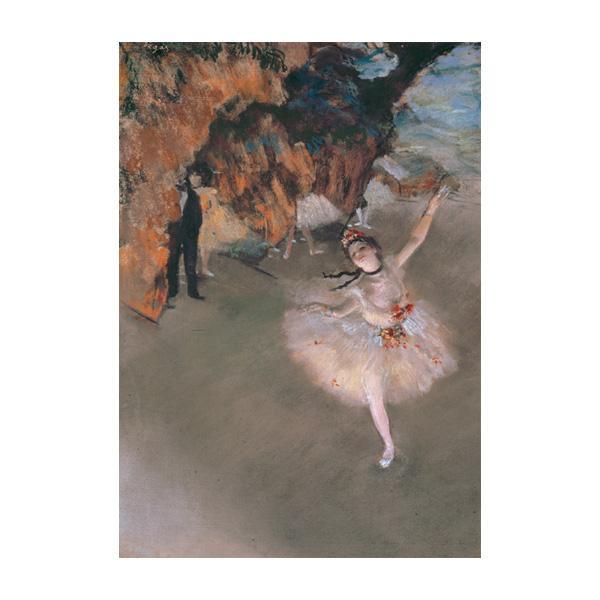 プリハード エドガー・ドガ 舞台の踊り子 F6号 額縁A 3249