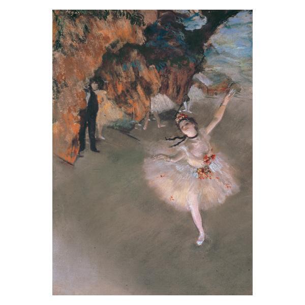 プリハード エドガー・ドガ 舞台の踊り子 F6号 額縁G 3249