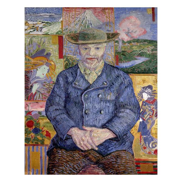 プリハード ヴィンセント・ヴァン・ゴッホ タンギー親爺の肖像 F8号 額縁A 4648