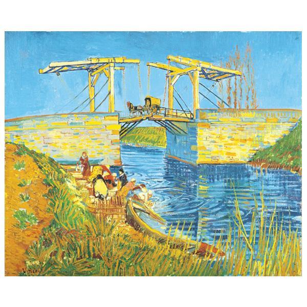 プリハード ヴィンセント・ヴァン・ゴッホ アルルのはね橋(アングロワ橋) F8号 額縁A 4742