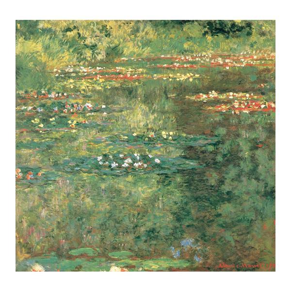 プリハード クロード・モネ 睡蓮の池 F3号 額縁D 1606
