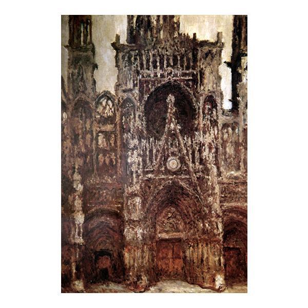 プリハード クロード・モネ ルーアンの聖堂 M20A号 額縁D 8208