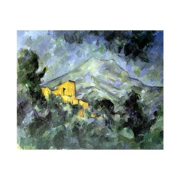 プリハード ポール・セザンヌ サント・ヴィクトワール山とシャトー・ノワール F3号 額縁G 1261
