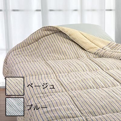 ロマンス小杉 きぎの暮らし 綿肌掛けふとん 140×190cm ベージュ・5410-4200-0400