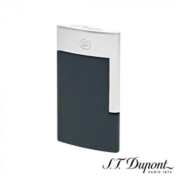 出群 電気で着火するテクノロジーライター NEW ARRIVAL S.T. Dupont エス テー デュポン グレー 027010E E-スリム クローム ライター