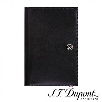 S.T. Dupont エス・テー・デュポン ラインD パスポートカバー ブラック 180012 180012