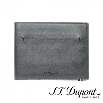 S.T. Dupont エス・テー・デュポン ラインD スリム 2つ折り財布 7CC グレー 184200 184200
