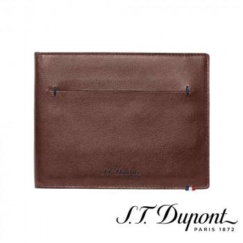 S.T. Dupont エス・テー・デュポン ラインD スリム 2つ折り財布 7CC ブラウン 184100 184100