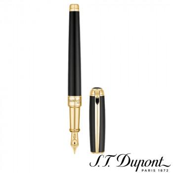 S.T. Dupont エス・テー・デュポン ラインD 万年筆 ラッカー&イエローゴールド 410101M 410101M
