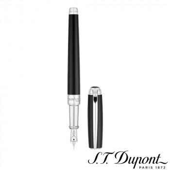 S.T. Dupont エス・テー・デュポン ラインD 万年筆 ラッカー&パラディウム 410100M 410100M