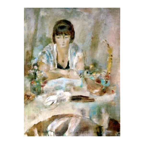ルーシー・クローグの肖像 プリハード P10号 額縁C 5347 ジュール・パスキン