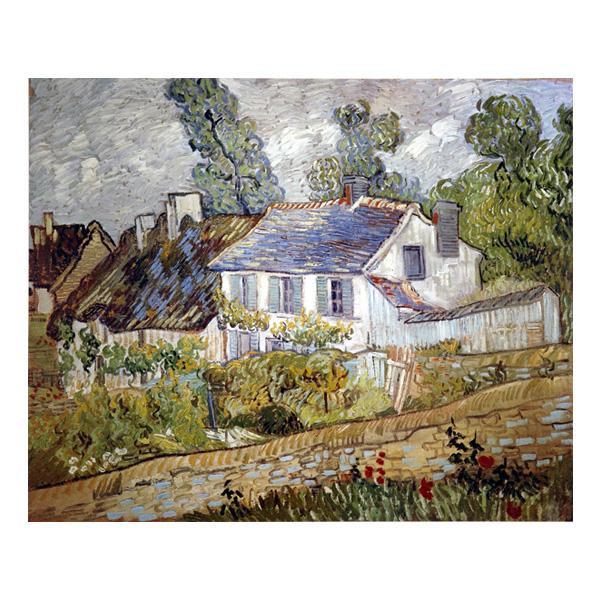 プリハード ヴィセント・ヴァン・ゴッホ オーヴェールの家々 P10号 額縁D 5581