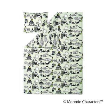 MOOMIN(ムーミン) デュべカバーセット キッド ムーミン グレイ FLS070234