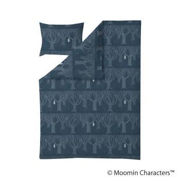 MOOMIN(ムーミン) デュベカバーセット スナフキン レイニーデイ ぺトロール FLS070246