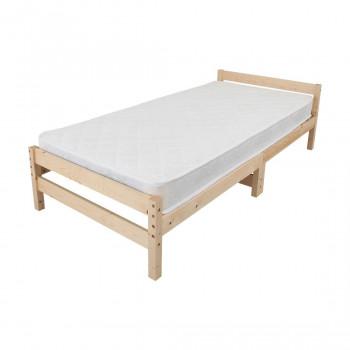 高さ調節できる天然木すのこベッド マットレスセット ナチュラル MRB-100MTSN