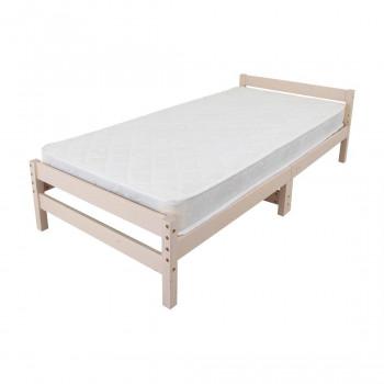 高さ調節できる天然木すのこベッド マットレスセット ホワイト MRB-100MTSW