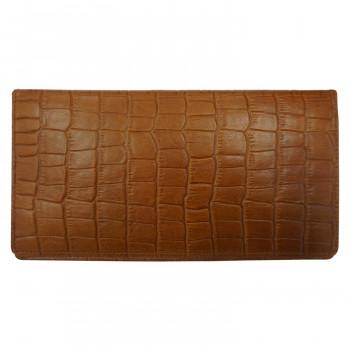 薄型で機能的なデザイン THINly スィンリー 本革 お気に入り 薄型収納財布 送料無料激安祭 クロコ型押 Cシリーズ 束入 SLC-T01 ブラウン