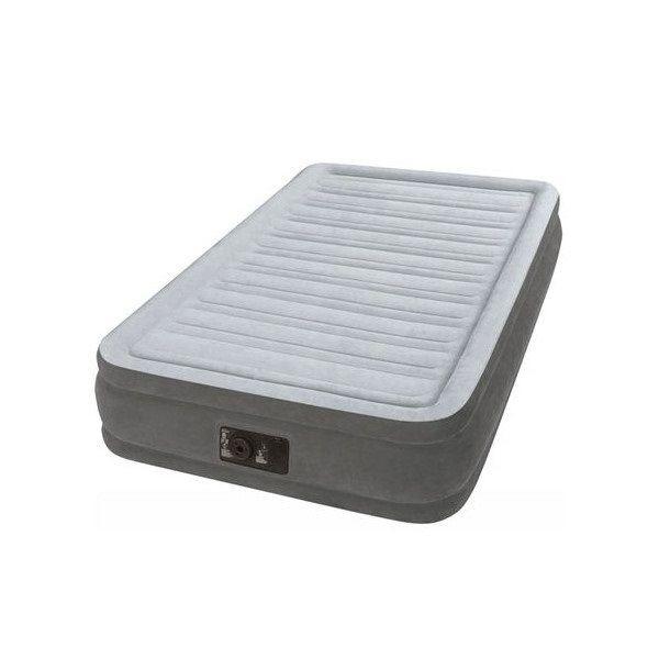 INTEX インテックス 電動ポンプ内臓エアーベッド ツインコンフォート ELEVATE シングルサイズ 64411