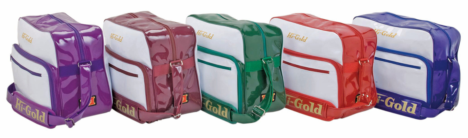HI-GOLD(ハイゴールド) エナメルショルダーバッグ HB-9000