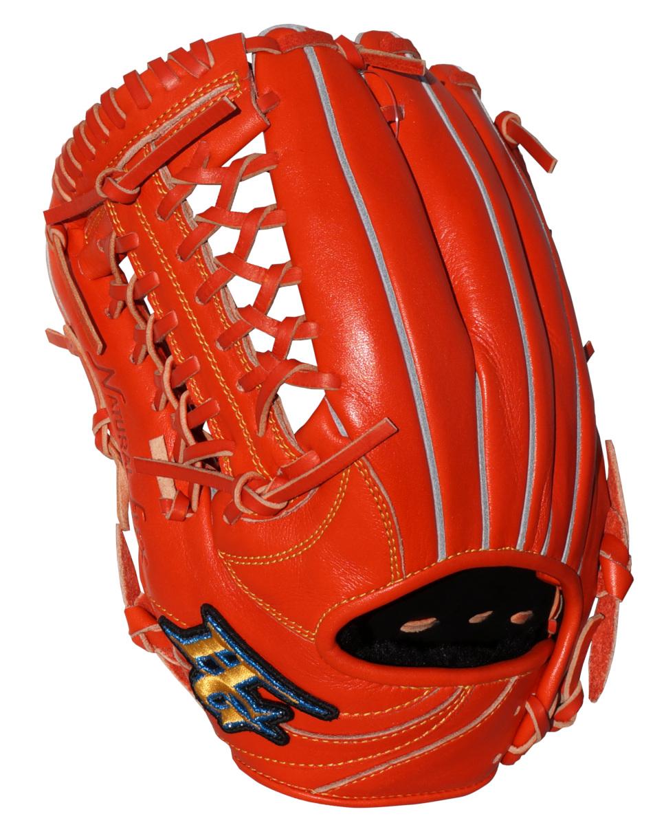ハイゴールド 少年軟式野球グラブ RookiesAS(ルーキーズエース) L-LLサイズ グローブ ファイヤーオレンジ RKG3001