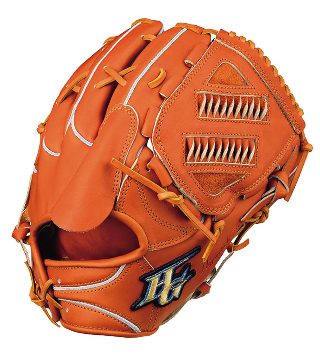 ハイゴールド 硬式野球グラブ 心極(和牛シリーズ) 投手用グローブ コルクタン KKG2001CTN 送料無料 2020年モデル