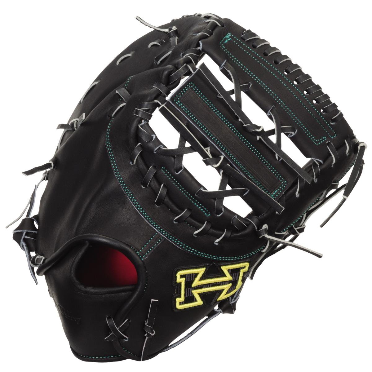 ハイゴールド 硬式野球ミットPAG DELUXE(デラックス)シリーズ 一塁手用グローブ ウイニングバック2 ブラック PAGF100 送料無料 2020年モデル