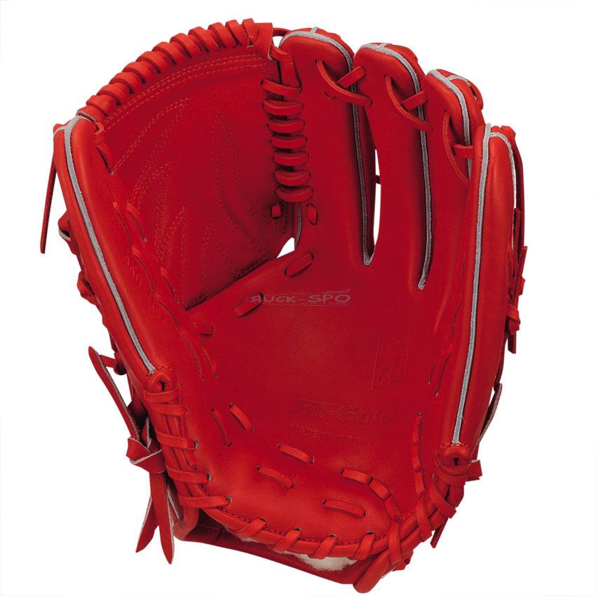 投手用 硬式 グラブ ハイゴールド HI-GOLD グローブ オレンジ 橙 高校 野球 KKG1161 送料無料 2018年モデル
