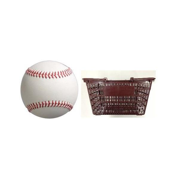 硬式野球ボール 練習球MODEL5 NL 3ダース・カゴ付 1セット