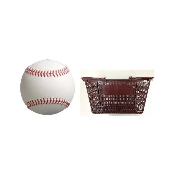 硬式野球ボール 練習球MODEL9 NL 3ダース・カゴ付 1セット