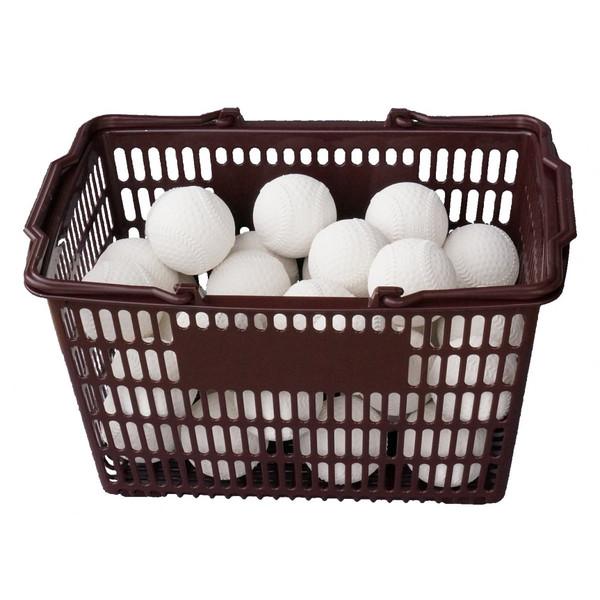 軟式野球ボール練習球 コクサイ KOKUSAI KSプラクティスボールB号 軟式練習球 オフィシャルタイプ 3ダース カゴ付