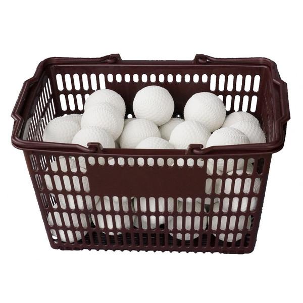 軟式野球ボール練習球 コクサイ KOKUSAI KSプラクティスボールC号 オフィシャルタイプ 3ダース カゴ付