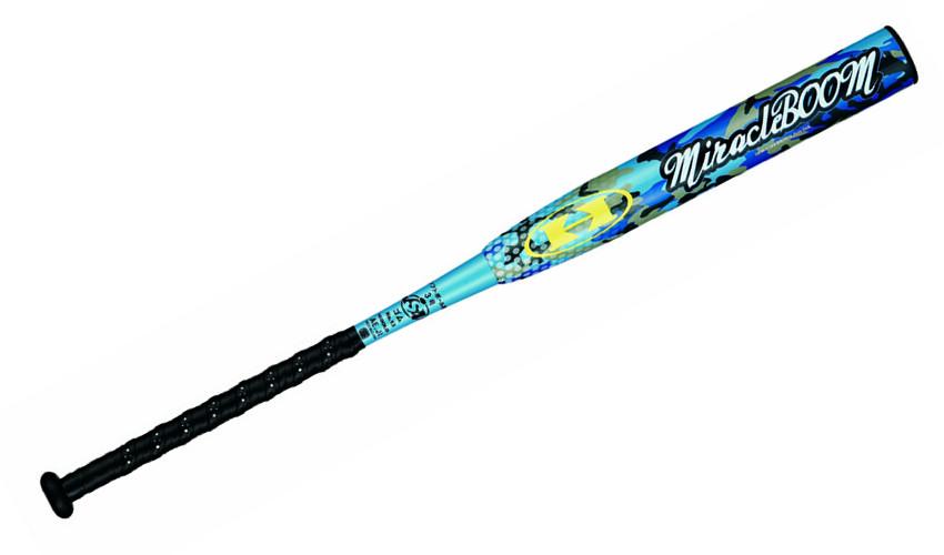HI-GOLD(ハイゴールド) ソフトボール3号ゴム用バット ツーピース3重管 miracleBOOM(ミラクルブーム) 84cm ブルー SBM-0184