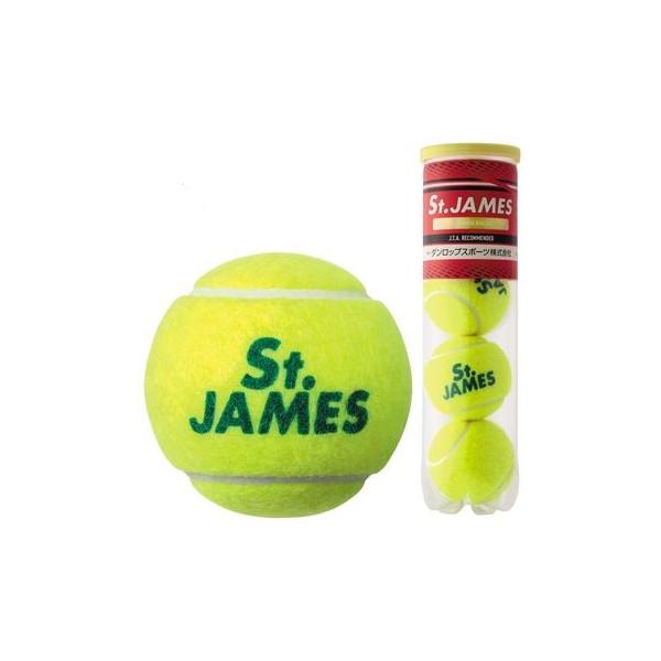 硬式テニスボール ダンロップ DUNLOP 硬式テニスボール St.JAMES セントジェームズ 4P×15