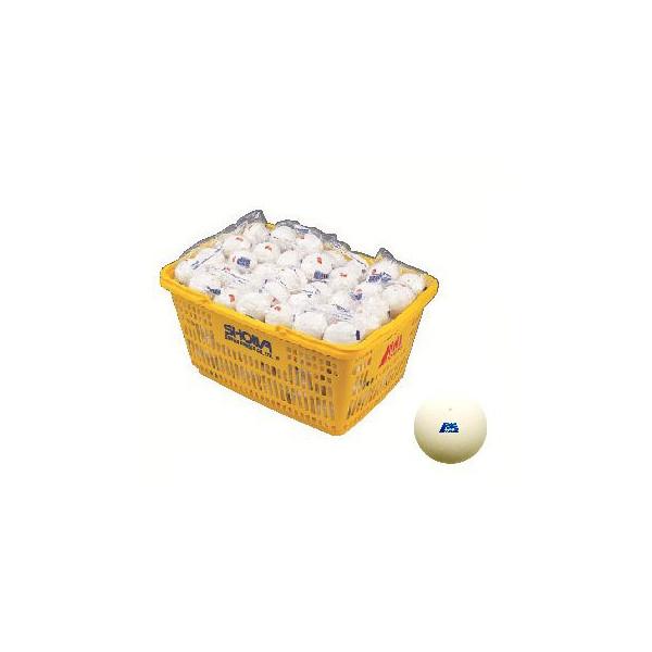 ソフトテニスボール アカエム ソフトテニス 練習用ボール アカエムプラクティス・白 かご入り 10ダース