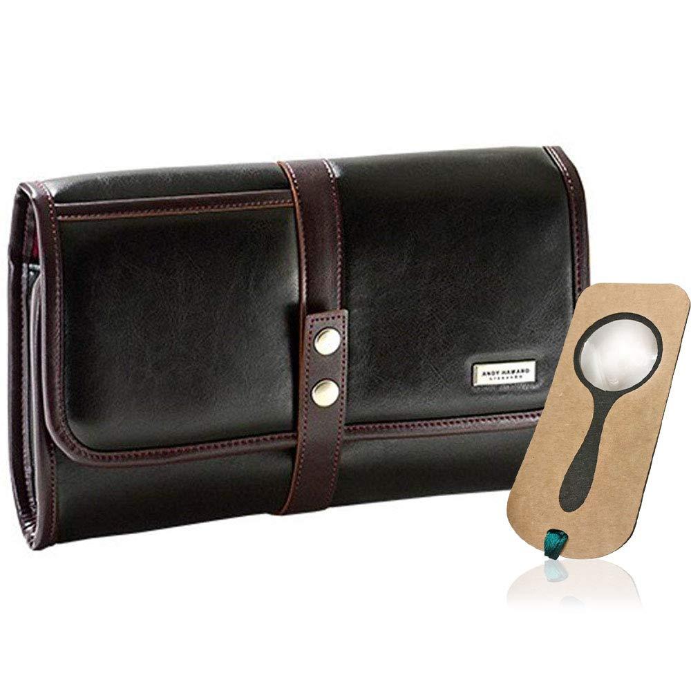 クラッチバッグ メンズ セカンドバッグ タブレット対応 B5 30cm 9インチ 10インチ nexus iPad ZenPad ANDY HAWARD 25863 しおり型ルーペ付