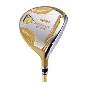 【新品】【保証書付】(6945)4星 ホンマ べレス ゴルフ E-06 フェアウェイウッド ARMRQ X 43 3W,5W,7W R/S(HONMA BERES E-06 フェアウェイウッド 4Star)