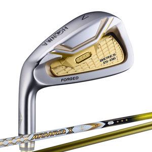 【新品】【保証書付】(6918)4星 ゴルフクラブ アイアンセット ホンマ べレス ゴルフ IS-06 左 Lefty ホンマゴルフ アイアン 6本組 6~11番 ARMRQ X 43/47/52(HONMA BERES IS-06 Lefty アイアン6Set 4Star)S-06 4S