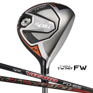 【新品】マラソン【保証書付】(6979)ホンマ ゴルフ ツアーワールド747 FW フェアウェイウッド VIZARD FD5~FD8/VIZARD FP5~FP8(HONMA TW747 FW フェアウェイウッド)
