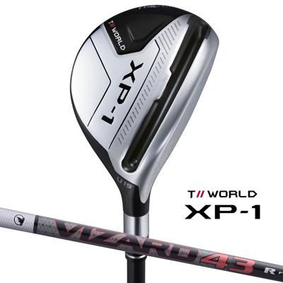 【新品】【保証書付】(7611)ホンマ ユーティリティ ツアーワールド XP-1 T//WORLD XP-1 Utility VIZARD 43(R・SR・S) HONMAGOLF 本間ゴルフ .