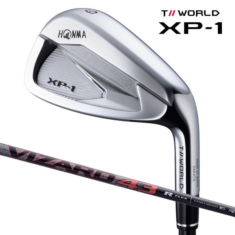 【新品】【保証書付】(7613) ホンマ ツアーワールド XP-1 アイアン単品(4I・5I・11I・SW) T//WORLD XP-1 Iron Single item VIZARD 43(R・SR・S) HONMAGOLF ホンマゴルフ アイアン 本間ゴルフ .