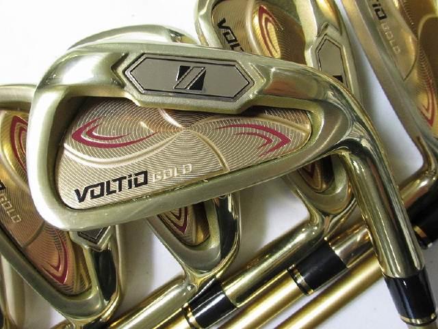 【中古】[7709]【あす楽】【ABランク】IS8本R カタナゴルフ ボルティオ IV ゴールドアイアンKATANA VOLTIO IV GOLD IS8set/TourAD400 8本/R/6-9 P・A・AS・S/23度