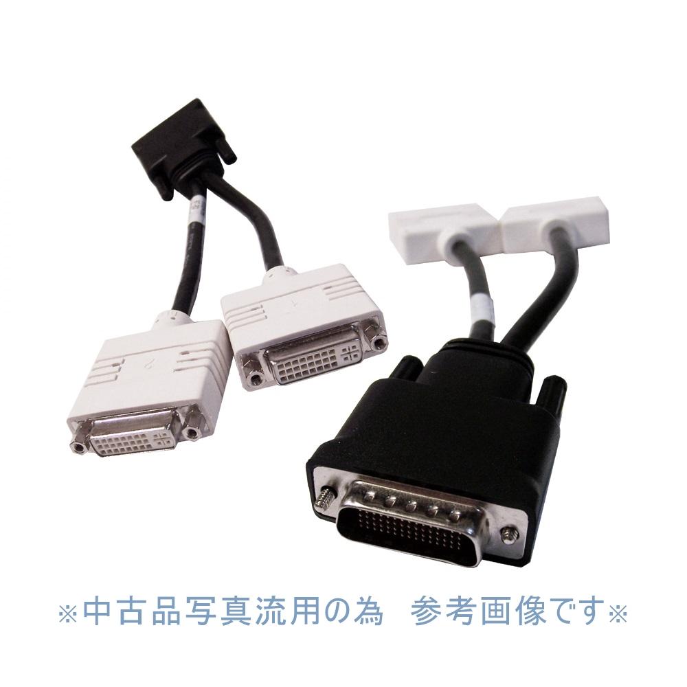 新作続 DMS-59 DVI分岐ケーブル DVI-I x2分配 ポイント消化 NEW ARRIVAL 訳アリA02036 DVI変換コード