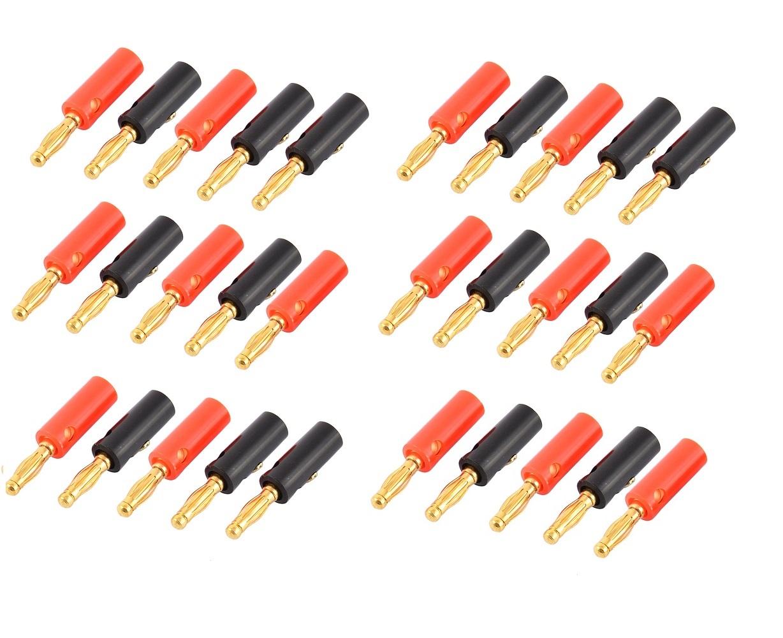 オーディオのカスタムに バナナプラグ赤 黒のセット 在庫限り バナナプラグ 人気商品 プラスチックカバー 使い勝手の良い 赤 ポイント消化 黒×15本A01583-30 内径4mm セット 黒 30本セット:赤×15本