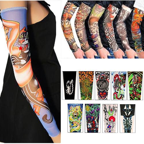 タトゥーを入れたかのように楽しめる タトゥースリーブ Bセット TatooSleeve 刺青 アームカバー B01~B09 お気に入り ポイント消化 左右2本×9種類セット 入れ墨 期間限定お試し価格