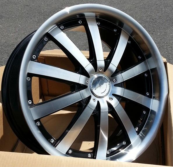 ■ AUTO STRADA NESTOR ■    大幅値下↓↓ 新品19inホイール4本セットPCD120 BMW車に!!